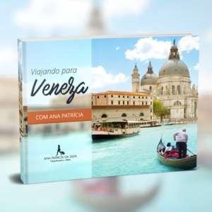 capa especial ebook viajando para veneza