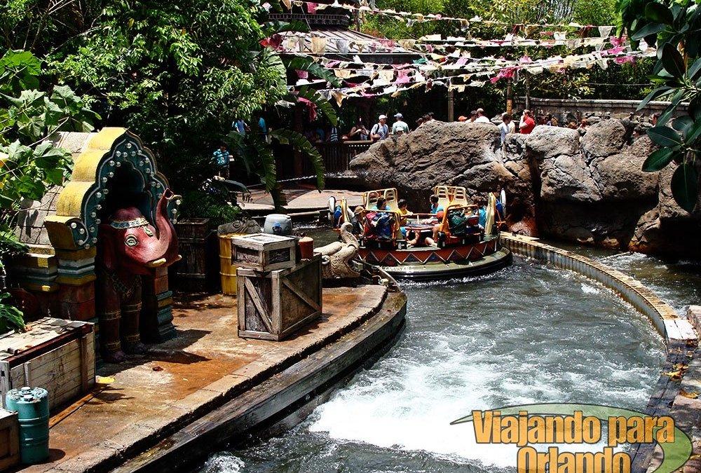 Prorrogada a reforma da atração Kali River Rapids do parque Disney's Animal Kingdom