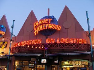 Planet Hollywood on Location