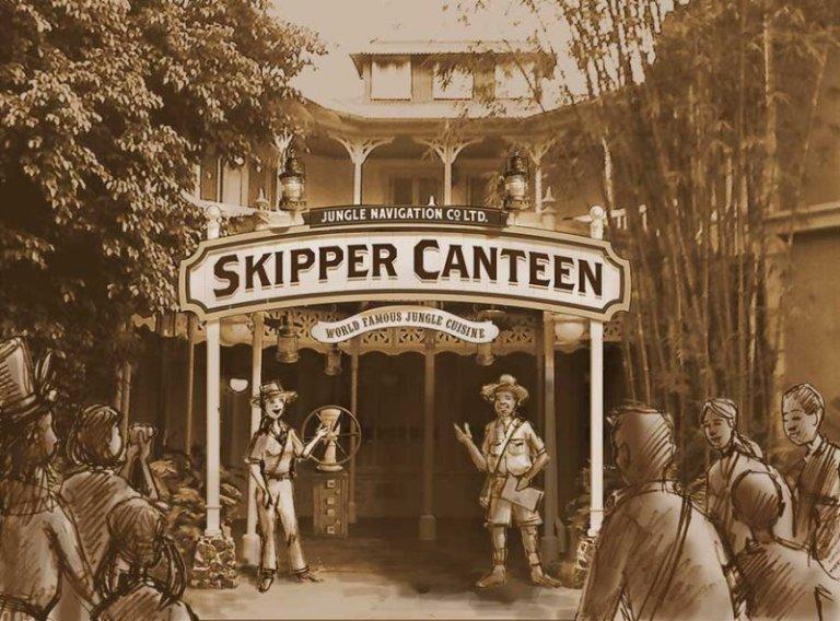 Jungle Navigation Co. Ltd. Skipper Canteen