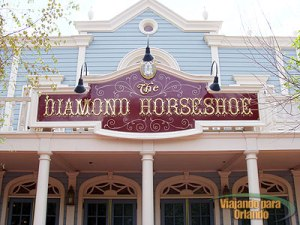 The Diamond Horseshoe Saloon