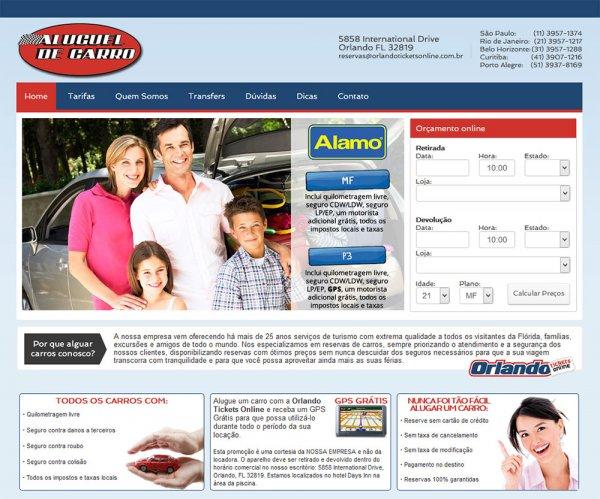 Novo sistema de cotação e reserva online é a novidade da empresa Orlando Tickets Online