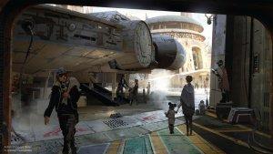 A Disney compartilhou novos esboços das novas áreas temáticas inspiradas em Star Wars