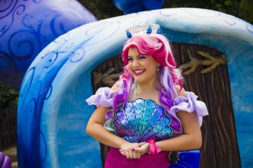 Halloween Sooktacular - SeaWorld Orlando - Princesa Coquina