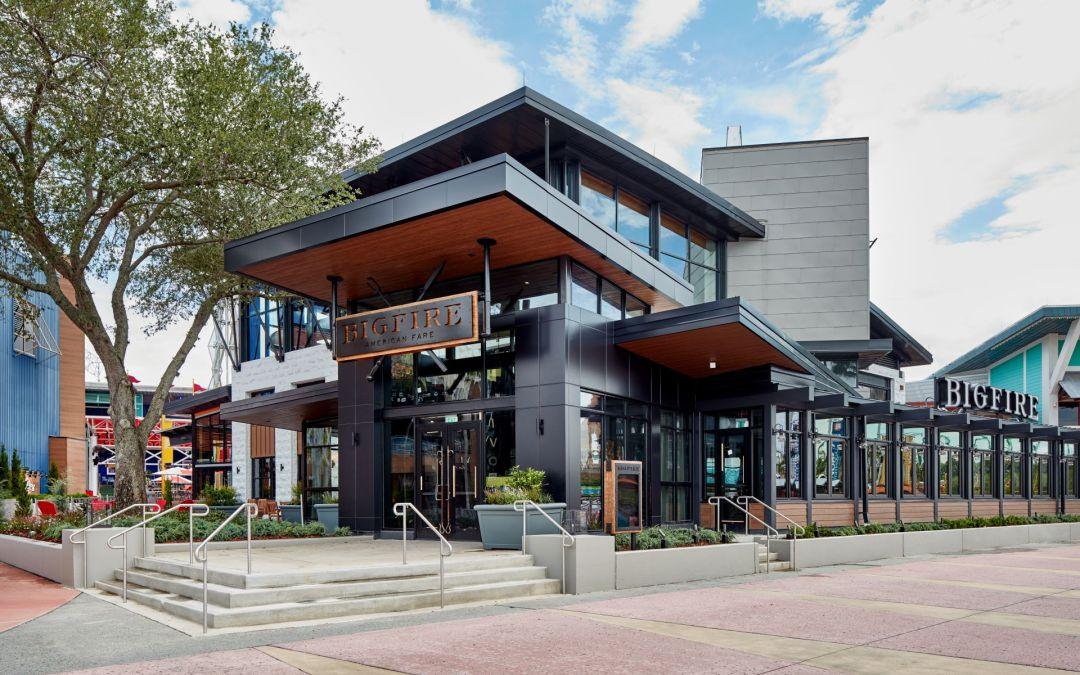 O restaurante Bigfire está oficialmente aberto no Universal CityWalk