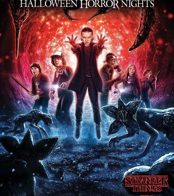 Novos labirintos de Stranger Things estão chegando ao Halloween Horror Nights