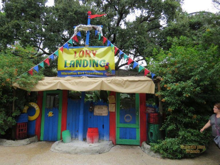 Lory Landing