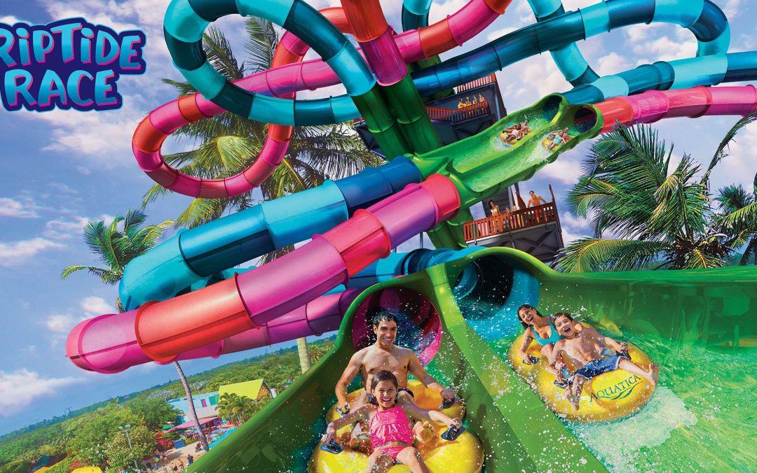 Riptide Race será o novo toboágua de duelo do Aquatica Orlando