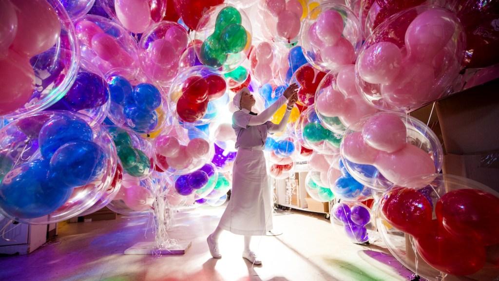 'Balloon Room' at Magic Kingdom Park
