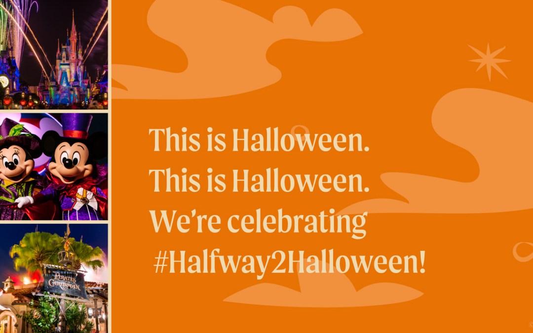 A celebração #Halfway2Halloween da Disney vai começar!