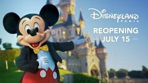Disneyland Paris começará a reabertura em fases a partir de 15 de julho