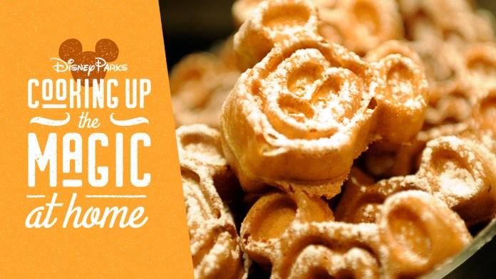 Mickey waffles graphic