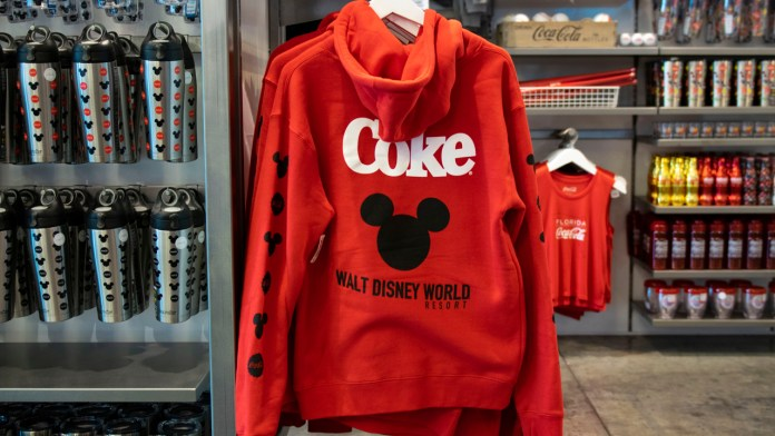 Coca-Cola x Walt Disney World Resort Collection at Disney Springs - Sweatshirt