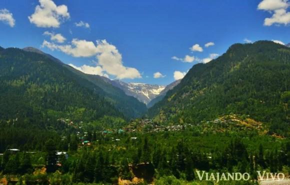 El Valle de Manali en India