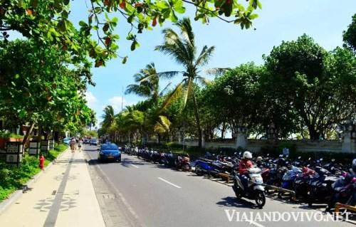 Calle de Kuta, en Bali
