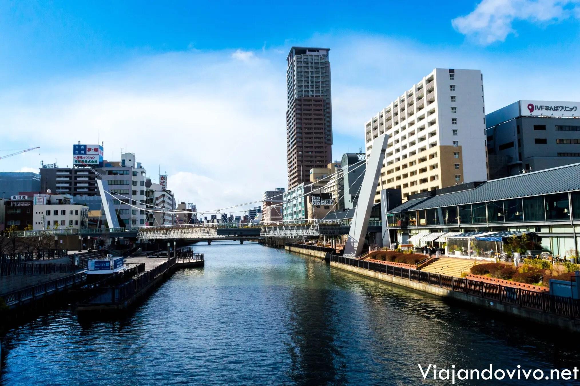 El canal de Osaka