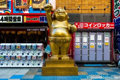 El famoso Dios Billiken en Osaka