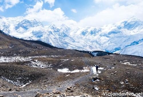 Ultimo tramo del Circuito de Annapurna