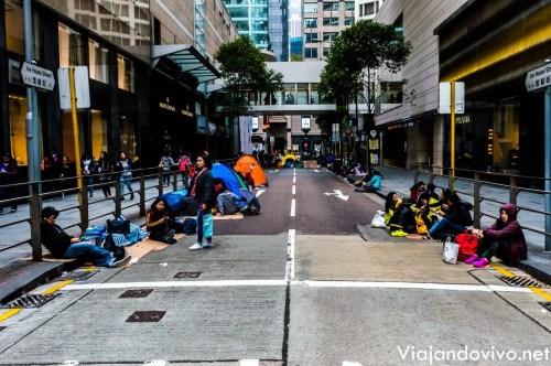 Un domingo en Hong Kong