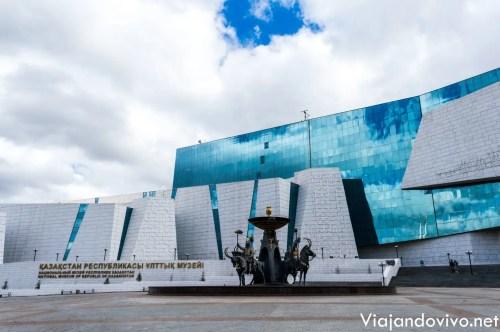 El nuevo Museo de Historia Nacional de Astana