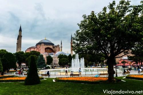 La histórica Hagia Sofia