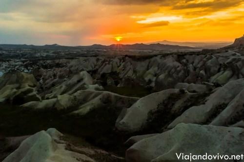 Atardecer en Capadocia, Turquia