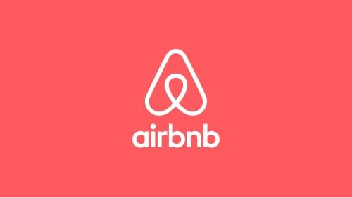 Logo de Airbnb para viajar barato