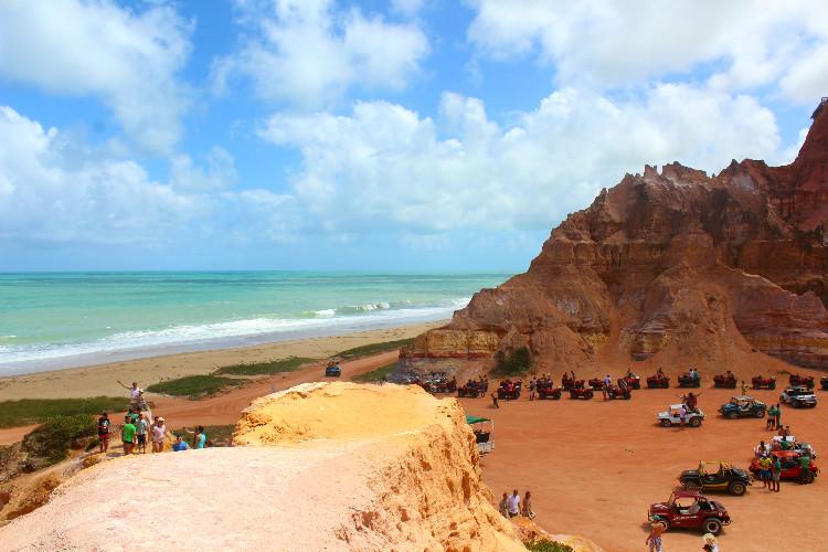 Praia do Gunga em Alagoas