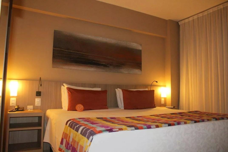 Quarto Quality Hotel Pampulha