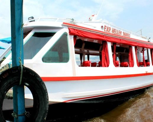 Barco do passeio