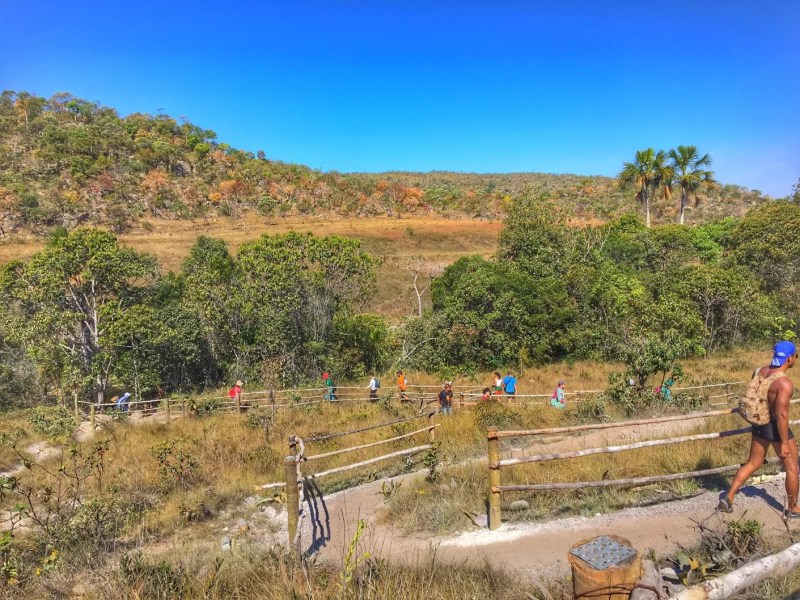 trilha cachoeira santa barbara