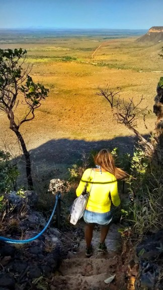 trilha da Serra do Espírito Santo