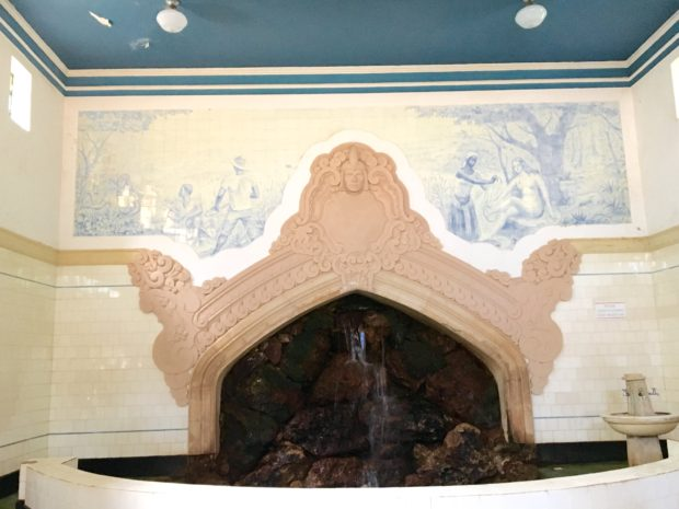 Interior da Fonte Dona Beja