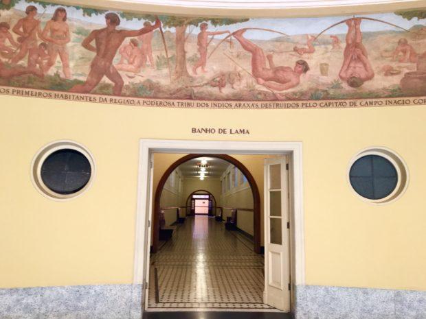 Salão do Banho de Lama -Tauá Grande Hotel e Termas de Araxá