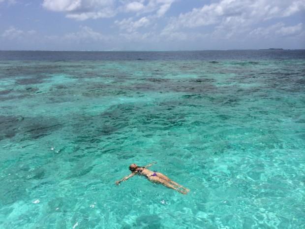 Relaxando nesse paraíso chamado Maldivas