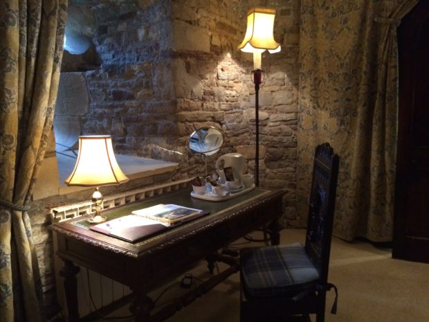 Interior da Suíte - Thornbury Castle Hotel