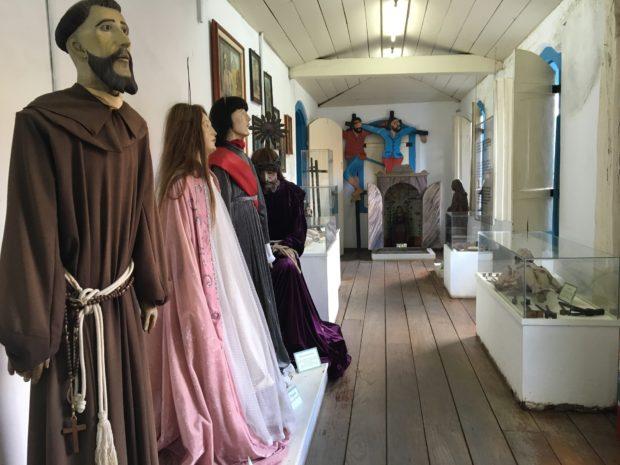 Interior do Museu de Arte Sacra da Igreja São Sebastião