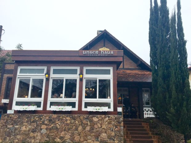 Unser Haus Restaurante em Nova Petrópolis - RS