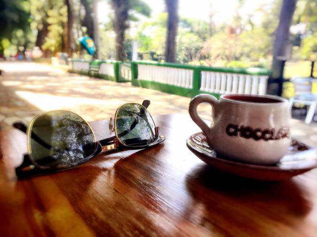 Pausa para um Café com Chocolate no Minas Cacau