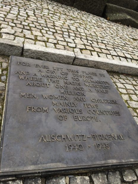 Uma Visita a Auschwitz-Polônia
