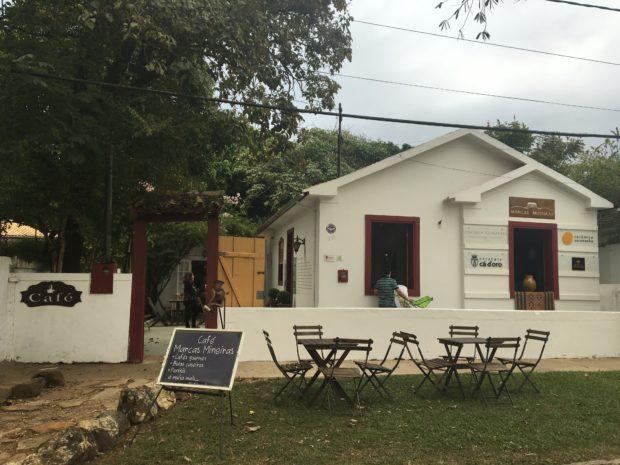 Fachada do Café Marcas Mineiras