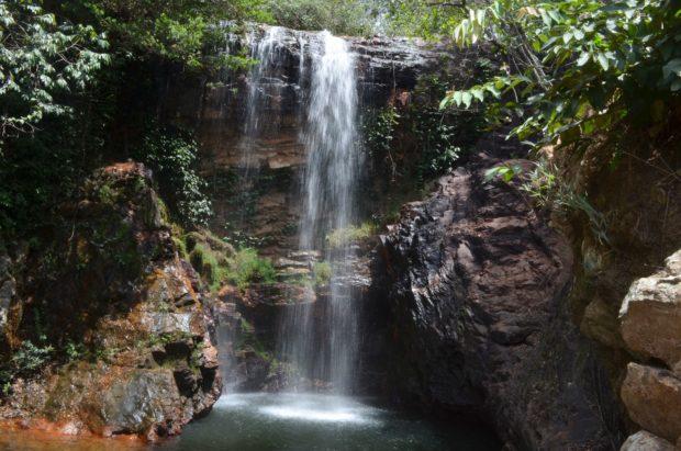 Cachoeira na Chapada Imperial