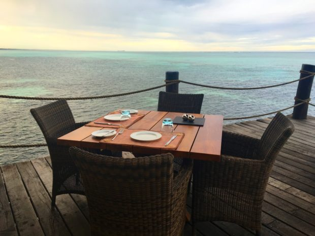 Jantar ao pôr do sol - Meliá Zanzibar