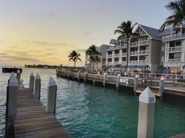 Vista do Cais de Key West
