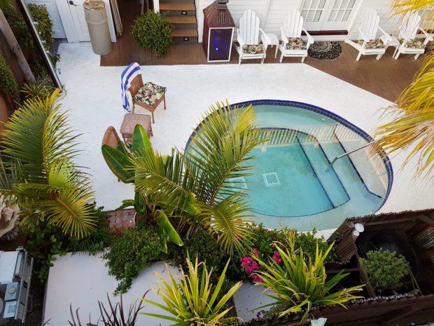 Uma das Piscinas do The Casablanca Hotel