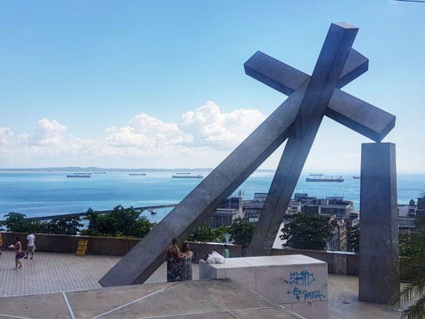Praça da Cruz Caída em Salvador