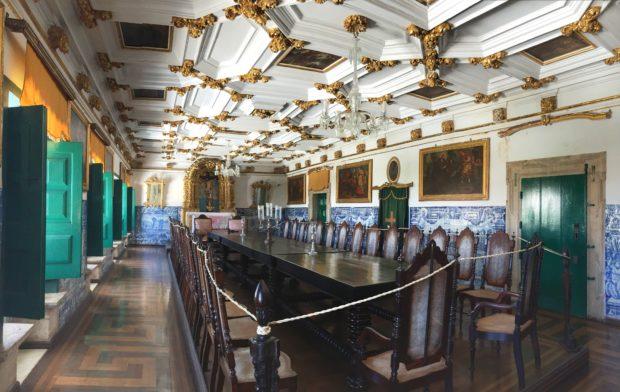 Salão da igreja de Ordem Terceira de São Francisco