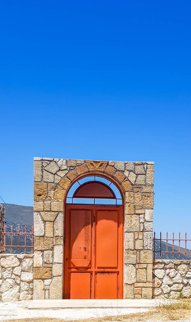 Porta nas Ilhas Jônicas - Grécia