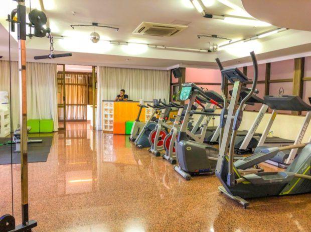Academia do Castro's Hotel em Goiânia