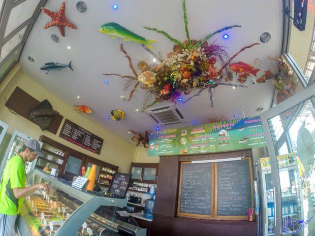 Ice Cream Shop Eden Island em Mahe - Seychelles